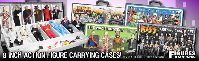 Mego 8 Inch Figure Carrying Cases