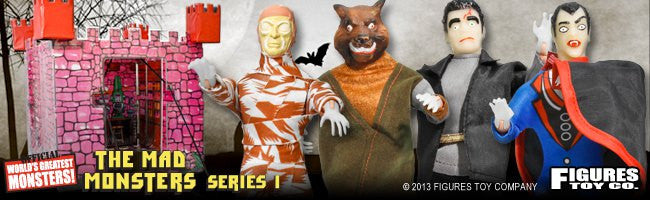 Mad Monsters Mego Retro Series