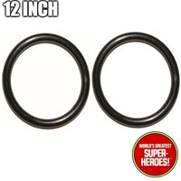 Mego 12 inch Body Rubberband Replacement Elastics for WGSH Action Figure - Worlds Greatest Superheroes