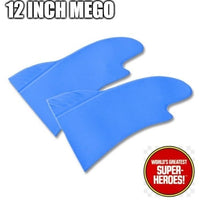 "Batman Gloves Mego World's Greatest Superheroes Repro for 12"" Action Figure - Worlds Greatest Superheroes"