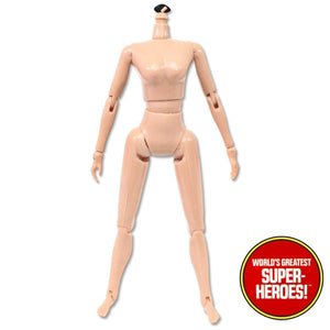 "Mego Female Reproduction Body For 8"" Action Figure"