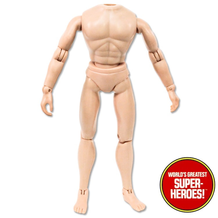 "Mego Type 2 Male Reproduction Body For 8"" Action Figure"
