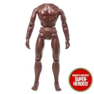 "Mego Type 2 Male Brown African Reproduction Body For 8"" Action Figure"