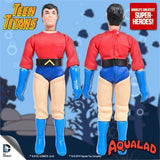 "Aqualad Blue Boots Mego World's Greatest Superheroes Repro for 7"" Action Figure - Worlds Greatest Superheroes"