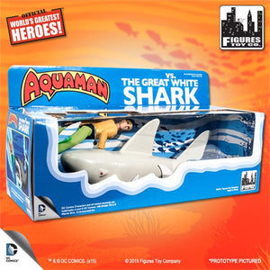 World's Greatest Heroes: Aquaman VS. The Great White Shark Playset