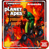 "Conquest of the Planet of the Apes: Armando Mego Custom 8"" Blister Card"