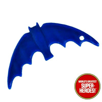 Batman Blue Batarang Mego World's Greatest Superheroes For 8 inch Action Figure