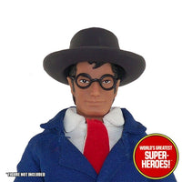 "Clark Kent 1941 Max Fleischer Custom Glasses Mego WGSH for 8"" Action Figure - Worlds Greatest Superheroes"