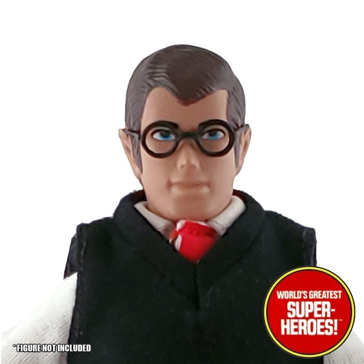"Peter Parker Custom Glasses Mego World's Greatest Superheroes for 8"" Action Figure - Worlds Greatest Superheroes"