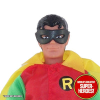 "Robin Rubber Mask Mego Reproduction or 8"" Action Figure"