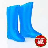 "Batman Boots Mego World's Greatest Superheroes Repro for 8"" Action Figure - Worlds Greatest Superheroes"