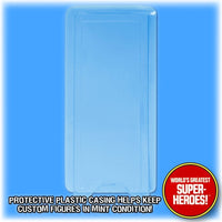 8 inch Mego Clamshell Bubble for WGSH Figure Blister Card Backing - Worlds Greatest Superheroes