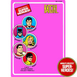 "Batgirl 1979 WGSH Repro Mego Blister Card For 8"" Action Figure - Worlds Greatest Superheroes"
