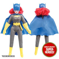 "Batgirl Complete Mego Repro Outfit For 8"" Action Figure - Worlds Greatest Superheroes"