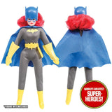 "Batgirl Complete Mego WGSH Repro Outfit For 8"" Action Figure - Worlds Greatest Superheroes"