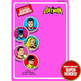 "Batman 1979 WGSH Repro Mego Blister Card For 8"" Action Figure - Worlds Greatest Superheroes"