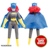"Batgirl Cowl Helmet Mego World's Greatest Superheroes Repro for 8"" Action Figure - Worlds Greatest Superheroes"