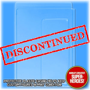 Clamshell for 7.25 x 10 inch Mego Original Size WGSH Blister Card Backing