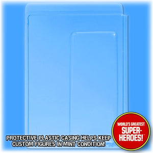 8 inch Clamshell for Mego World's Greatest Superheroes Blister Card Backing