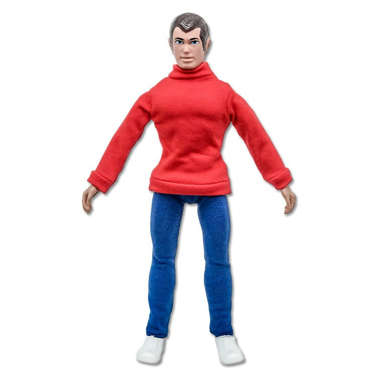 Secret Identity Peter Parker Mego Retro Style 8 inch figure - Worlds Greatest Superheroes