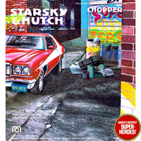 "Starsky & Hutch: Chopper Mego Repro V2.0 Blister Card For 8"" Action Figure"