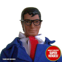 "Clark Kent Custom Glasses Mego World's Greatest Superheroes for 8"" Action Figure - Worlds Greatest Superheroes"