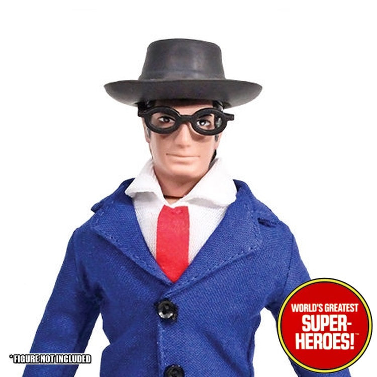"Clark Kent Glasses Mego World's Greatest Superheroes Repro for 8"" Action Figure - Worlds Greatest Superheroes"