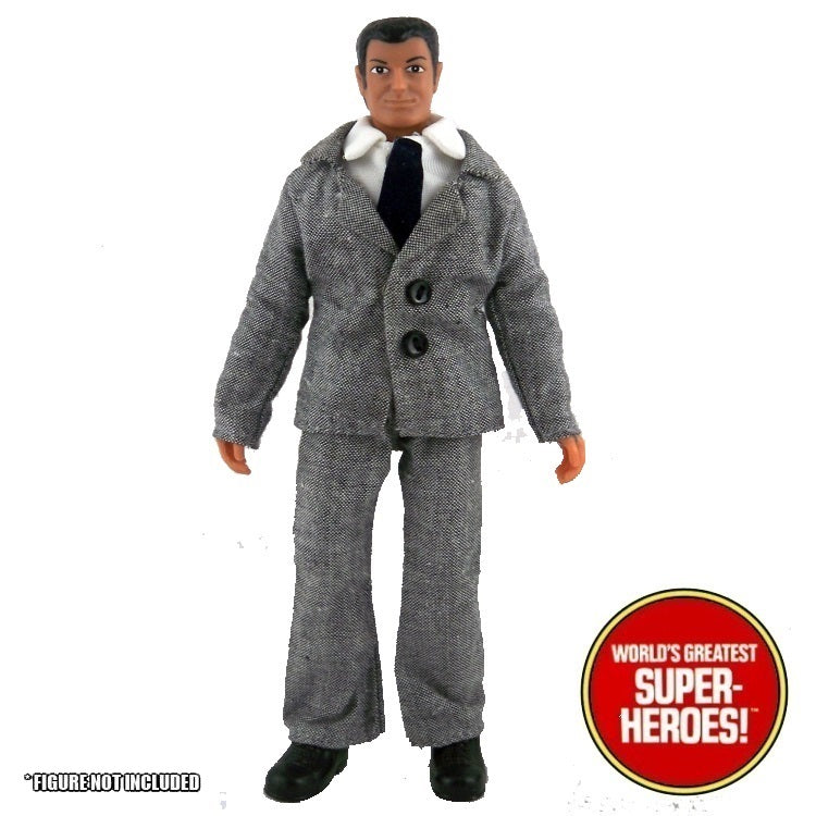 "Montgomery Ward Bruce Wayne Mego Complete Repro Outfit For 8"" Action Figure"