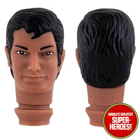 "Montgomery Ward Clark Kent Mego Repro Head For Custom 8"" Action Figure"