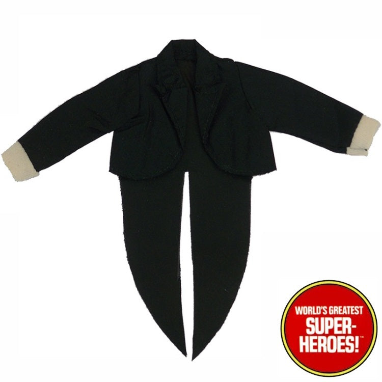 "Penguin Jacket Mego World's Greatest Superheroes Repro Part for 8"" Action Figure - Worlds Greatest Superheroes"