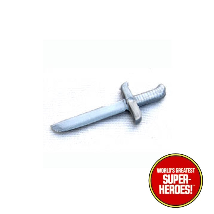 "Merry Men: Robin Hood Knife Dagger Mego Reproduction for 8"" Action Figure - Worlds Greatest Superheroes"