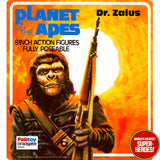"Planet of the Apes: Dr Zaius Palitoy Repro Blister Card For 8"" Figure"
