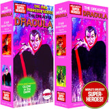 "Mad Monster: The Dreadful Dracula Mego Repro Solid Box For 8"" Action Figure"