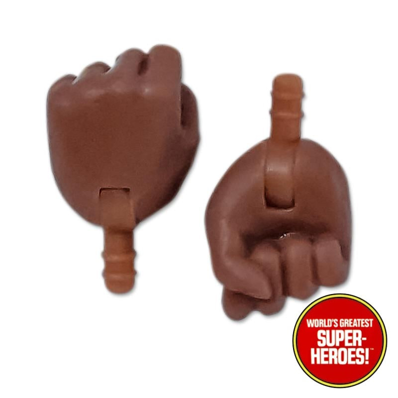 "Type S Bandless Female Brown Closed Hands Fist for 8"" Action Figure"