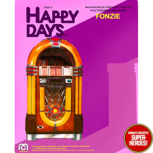 "Happy Days: Fonzie Mego Repro Blister Card For 8"" Action Figure"