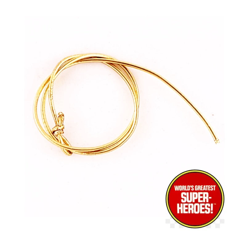 "Wonder Woman Golden Lasso Mego WGSH Custom for 8"" or 12"" Action Figure"