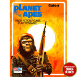 "Planet of the Apes: Galen Palitoy Repro Blister Card For 8"" Figure"