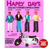 "Happy Days: Richie Mego Repro Blister Card For 8"" Action Figure"