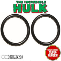 Mego Hulk Body Rubberband Replacement Elastics (2 pcs) for WGSH 8