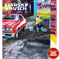 "Starsky & Hutch: Hutch Mego Repro V2.0 Blister Card For 8"" Action Figure"