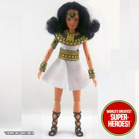 "Isis Complete Mego Repro Goddess Outfit For 8"" Action Figure - Worlds Greatest Superheroes"