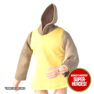 "Merry Men: Little John Brown Jacket Mego Reproduction for 8"" Action Figure - Worlds Greatest Superheroes"