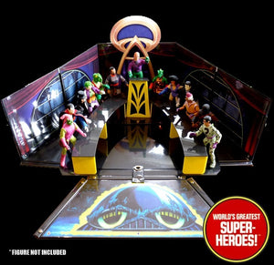 "Super Friends Legion of Doom Podium & Tables For 8"" Figure Playset"