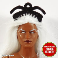 "Storm Tiara Mego World's Greatest Superheroes Custom for 8"" Action Figure"