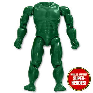 "Hulk Mego Body Reproduction for WGSH 8"" Action Figure"