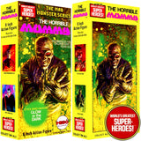 "Mad Monster: The Horrible Mummy Mego Repro Solid Box For 8"" Action Figure"