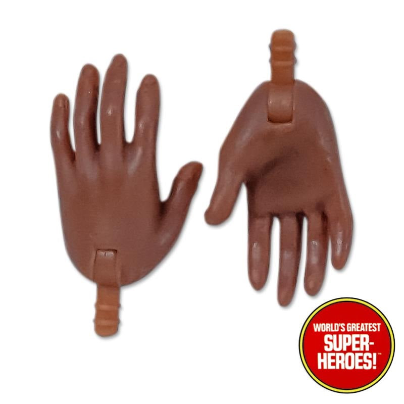 "Type S Bandless Female Brown Spell Cast Open Hands for 8"" Action Figure"