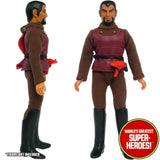 "Star Trek: Klingon and Gorn Black Boots Mego Repro for 8"" Action Figure - Worlds Greatest Superheroes"