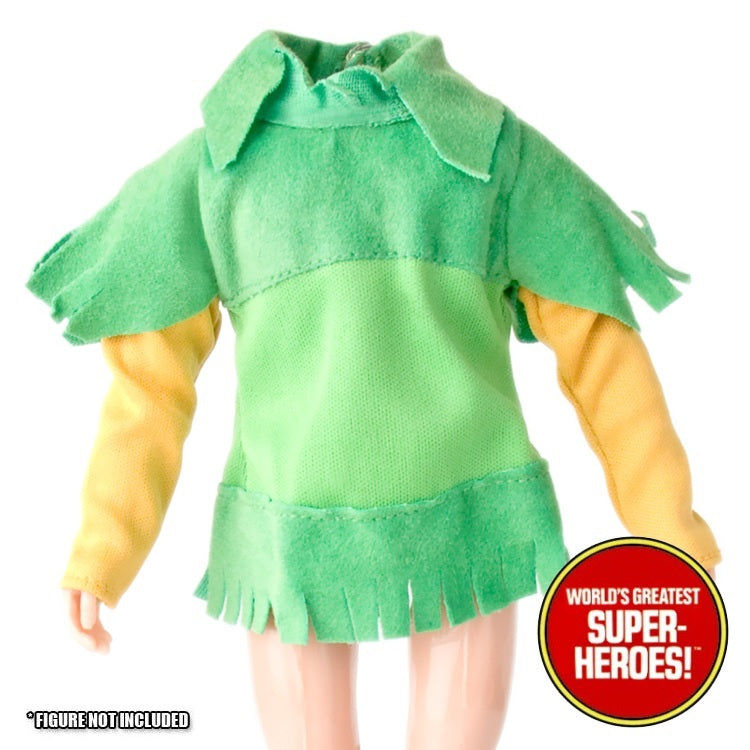 "Merry Men: Robin Hood Green Jacket Mego Reproduction for 8"" Action Figure - Worlds Greatest Superheroes"
