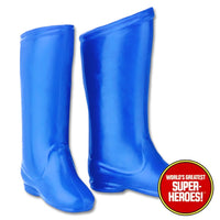 "Batman Removable Cowl Boots Mego Reproduction for 8"" Action Figure - Worlds Greatest Superheroes"